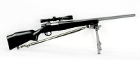 Remington 700 sniper rifle with bipod & scope