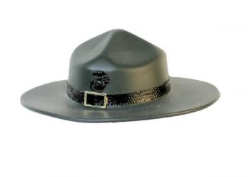 USMC D. I. dark green hat