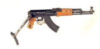 Russian AK-74 with fold down stock