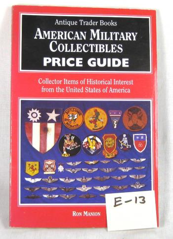 Book (American military Collectables) price guide
