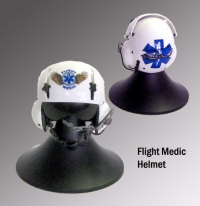 flight medic pilot helmet--- helicopter