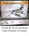 50 cal machine gun -- plastic kit