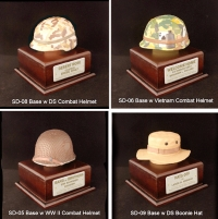 U.S. military 1/4 scale helmets ( choose )