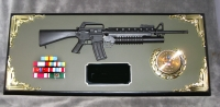 Award 1/3 scale M-16 w/M203 launcher