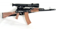 Russian AK-47 W/Scope