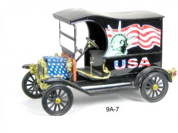 Ford (special patriotic edition) paddy wagon