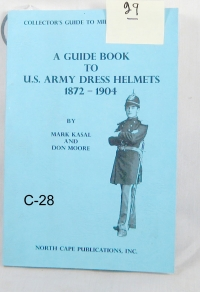 "US Army head dress helmets "" 1872 thru 1904 """