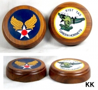 2 U.S. Air Force paper weights