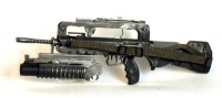 French Famas G2 Commando rifle w/ m-203 launcher