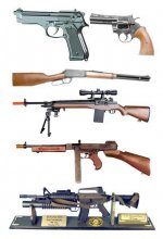 Full Size Guns & Rifles