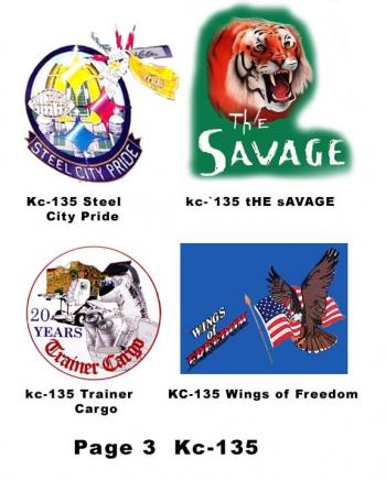 KC-135 Nose Art for mini helmets