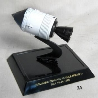 Air/space set - Columbia command module with stand