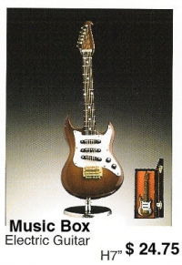 miniature Electric Guitar