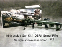 1/6 DSR1 sniper rifle --plastic kit