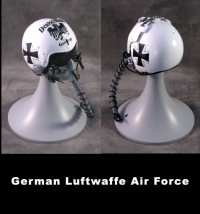 Luftwaffe pilot helmet 1/6th scale