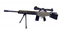 H&K MSG-90 Sniper rifle with scope and tri pod