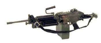 U.S. M-249 w/sliding stock (commando)
