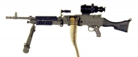 U.S. M-240 W/PVS4 night vision scope
