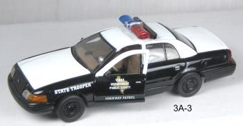 "2000 Ford crown vic ""Texas State Trooper"""