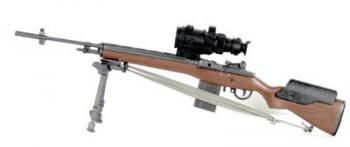 M-14 sniper rifle w/bipod and PVS-4 night scope