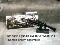 1/6 M-16 rifle with M203