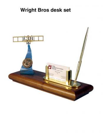 Wright Bros desk set
