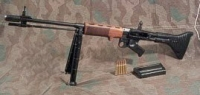 German FG-42 machine gun