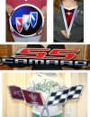 Automotive metal signs
