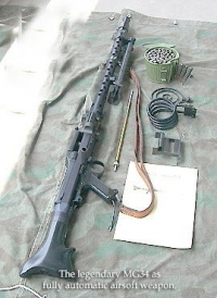 German MG 34 Machine gun