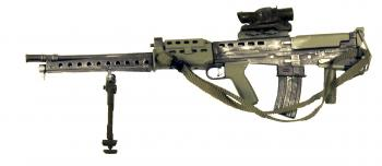 British L86A1 SA80 W/Scope