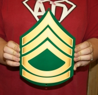 US Army Sergeant first class