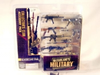 Mc Farlane gun set of 8 From collectors set