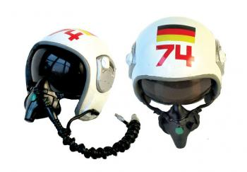German Luftwaffe pilot helmet