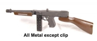 U.S. Thompson sub machine gun ( military style )