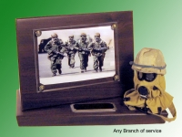 Chemical warfare plaque