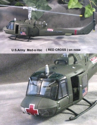 Med-o-vac helicopter U.S.Army