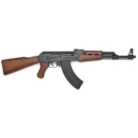 AK-47 Assult rifle with wood stock