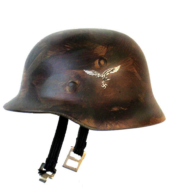 Helmet Luftwaffe (brownish) - Click Image to Close