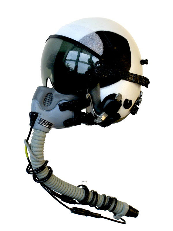 U.S. Navy pilot helmet - Click Image to Close