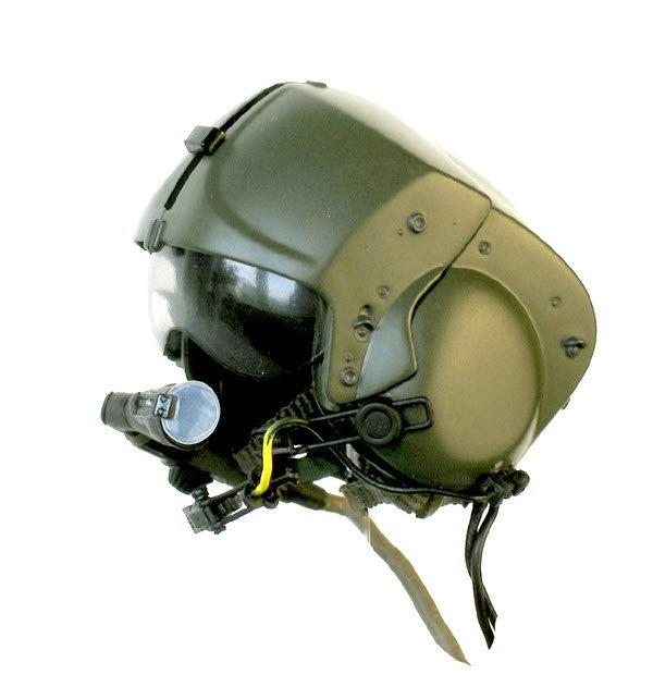 Apache helicopter pilot helmet - Click Image to Close