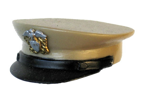 Navy dress hat - Click Image to Close