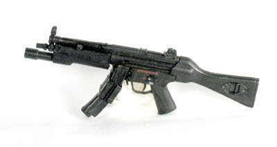 MP5- With tac light and solid stock - Click Image to Close