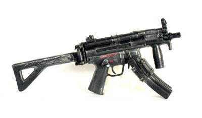 MP5 Stubby with folding stock - Click Image to Close