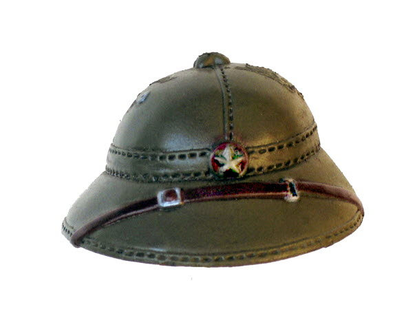 Chinese Pith helmet - Click Image to Close