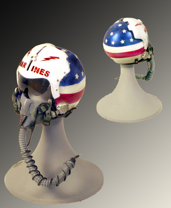 1/6 Marines hand painted helmet - Click Image to Close