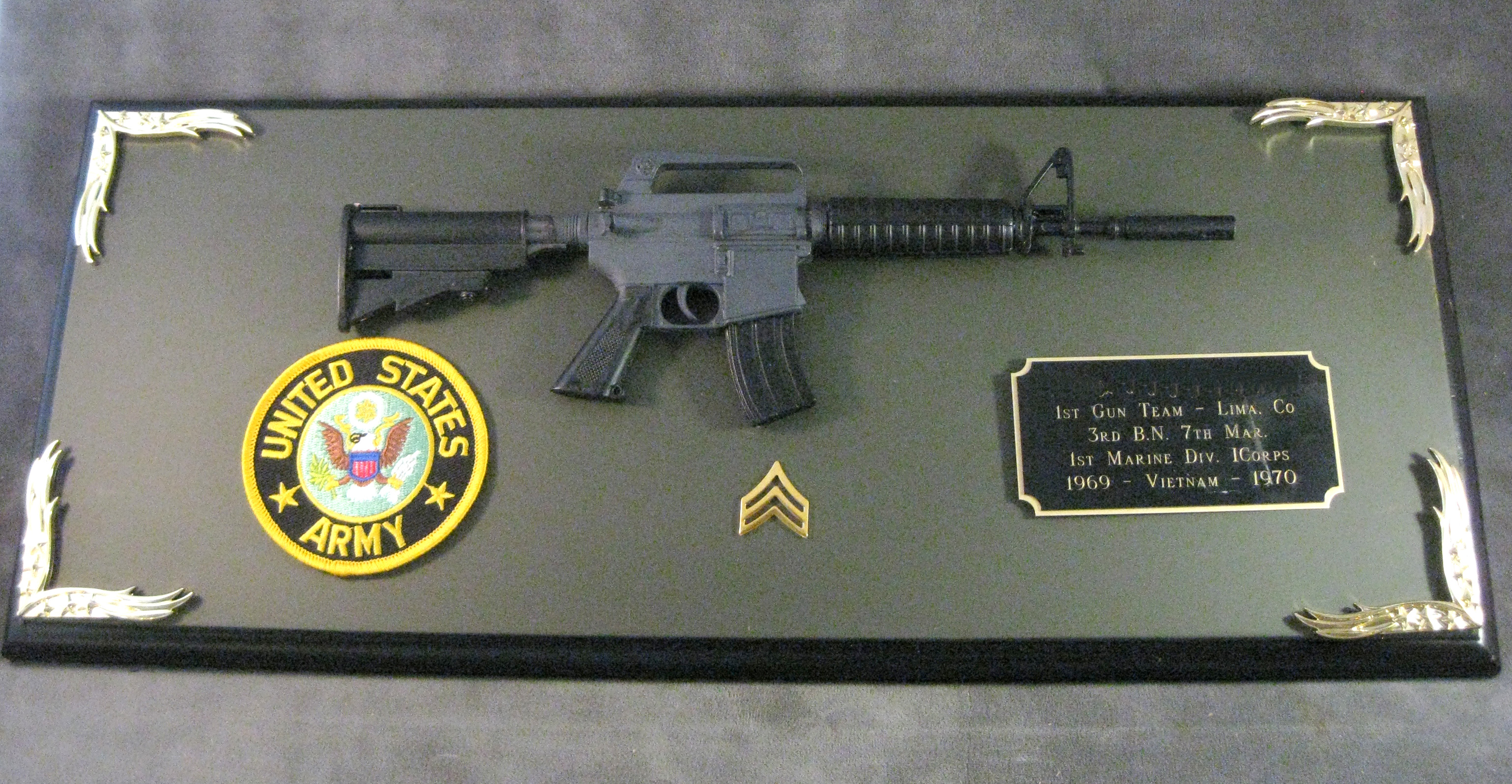 Award 1/3 scale M-4 rifle - Click Image to Close