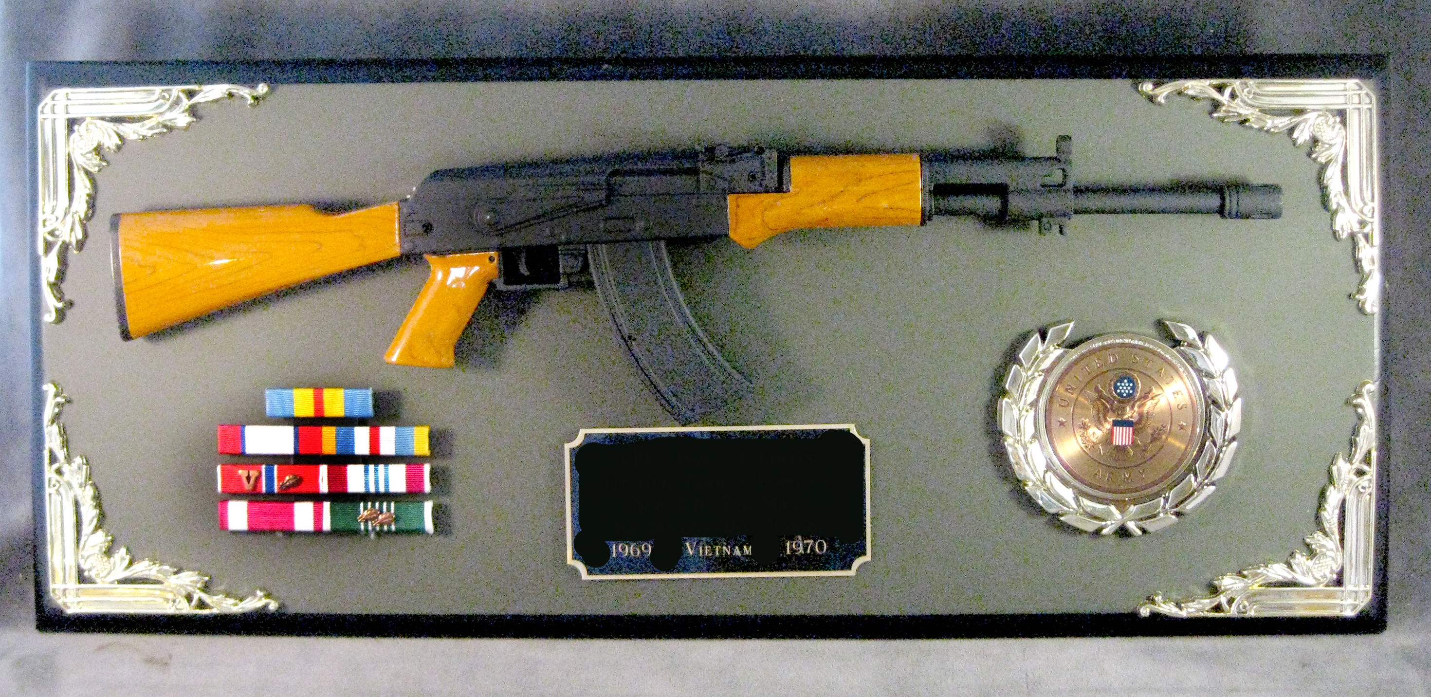 Award 1/3 scale AK-47 rifle - Click Image to Close
