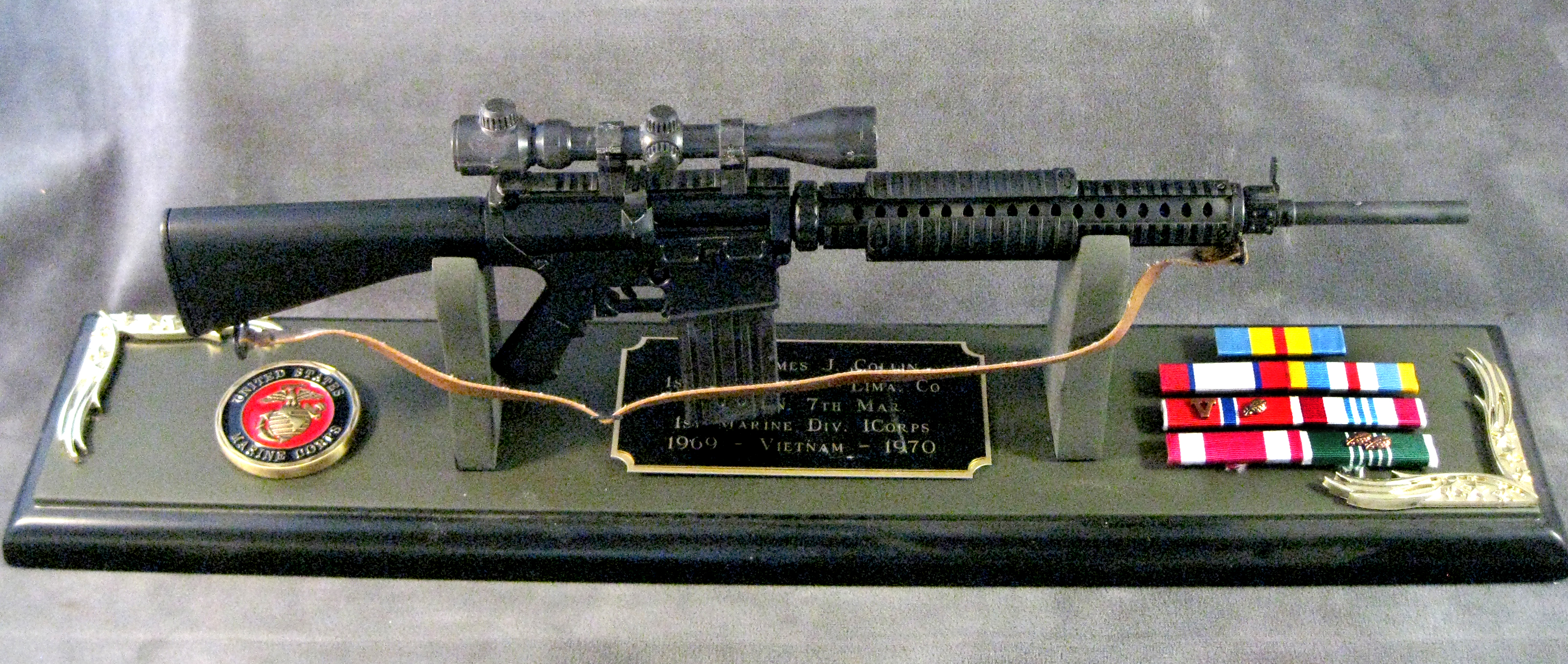AR-10 sniper rifle 1/3 scale - Click Image to Close