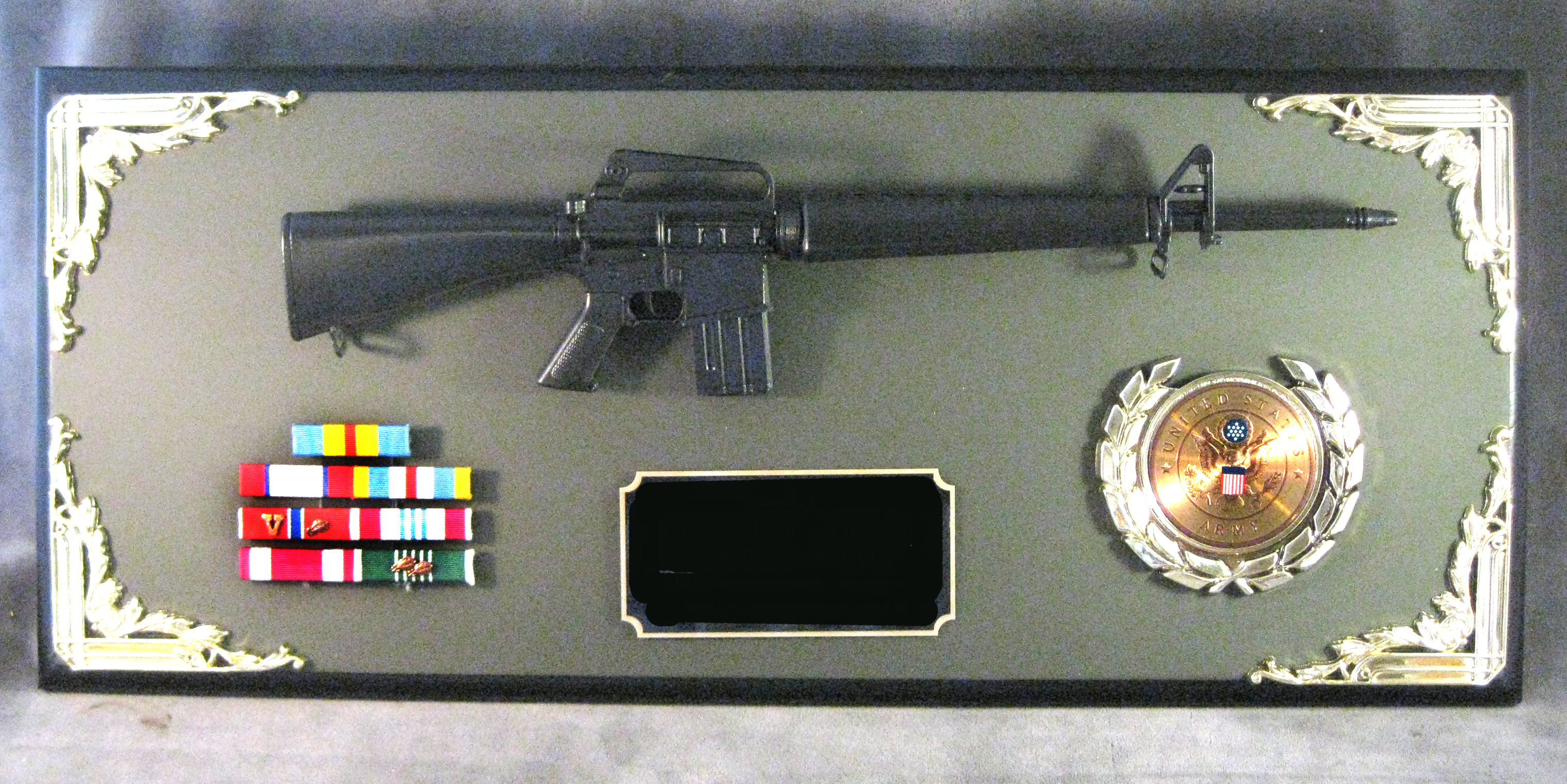 Award-- 1/3 scale m-16 rifle - Click Image to Close