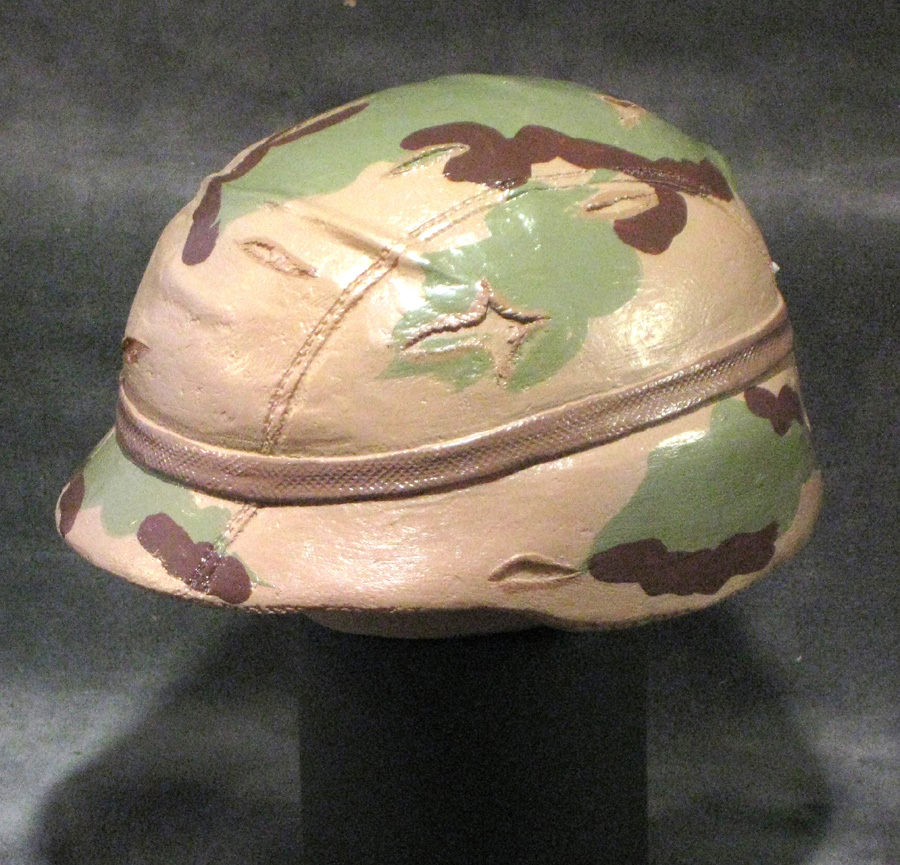 1/4 scale Kevlor helmet - Click Image to Close